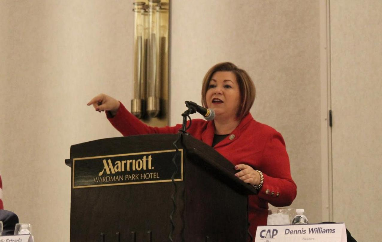 Congresswoman Linda Sanchez
